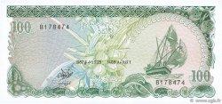 100 Rufiyaa MALDIVES  1987 P.14b NEUF