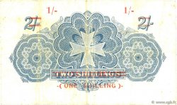 1 Shilling sur 2 Shillings MALTE  1940 P.15 TB+