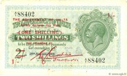 1 Shilling sur 2 Shillings MALTE  1940 P.15 TTB