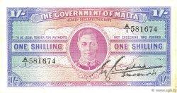 1 Shilling MALTE  1943 P.16 SUP