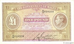 1 Pound MALTE  1940 P.20b TTB+
