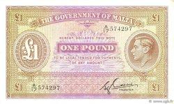 1 Pound MALTE  1940 P.20c SUP