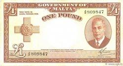 1 Pound MALTE  1951 P.22 TTB