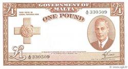 1 Pound MALTE  1951 P.22 NEUF