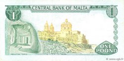 1 Lira MALTE  1973 P.31a TTB