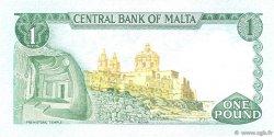 1 Lira MALTE  1973 P.31a SUP