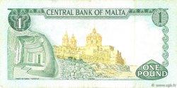 1 Lira MALTE  1973 P.31c pr.TTB