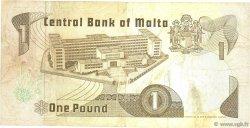 1 Lira MALTE  1979 P.34a TB+