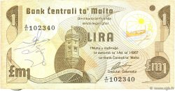 1 Lira MALTE  1979 P.34b TB