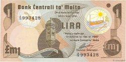 1 Lira MALTE  1979 P.34b SUP