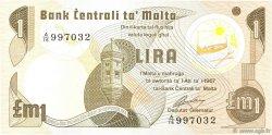 1 Lira MALTE  1979 P.34b pr.NEUF