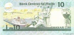 10 Liri MALTE  1986 P.39 TTB