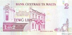 2 Liri MALTE  1994 P.45b SUP