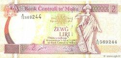 2 Liri MALTE  1994 P.45c TB+