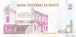 2 Liri MALTE  1994 P.45c TTB+