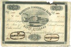 50 Dollars ÎLE MAURICE  1840 PS.126 TTB