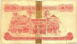 10 Rupees ÎLE MAURICE  1967 P.31a AB