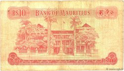 10 Rupees ÎLE MAURICE  1967 P.31b B+