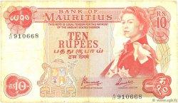 10 Rupees ÎLE MAURICE  1967 P.31c TB+