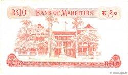 10 Rupees ÎLE MAURICE  1967 P.31c TTB