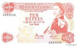 10 Rupees ÎLE MAURICE  1967 P.31c NEUF