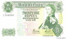 25 Rupees ÎLE MAURICE  1967 P.32b TTB+
