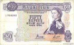 50 Rupees ÎLE MAURICE  1967 P.33c TTB