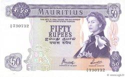 50 Rupees ÎLE MAURICE  1967 P.33c SUP