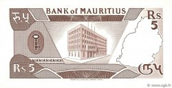 5 Rupees ÎLE MAURICE  1985 P.34 pr.SUP