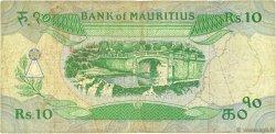 10 Rupees ÎLE MAURICE  1985 P.35a