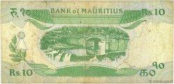 10 Rupees ÎLE MAURICE  1985 P.35b B