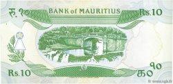 10 Rupees ÎLE MAURICE  1985 P.35b TTB