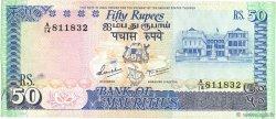 50 Rupees ÎLE MAURICE  1986 P.37a TTB+