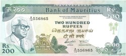200 Rupees ÎLE MAURICE  1985 P.39b NEUF