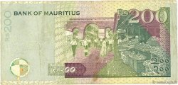 200 Rupees ÎLE MAURICE  1999 P.52a TB+