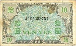 10 Yen JAPON  1945 P.070 TB+