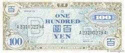 100 Yen JAPON  1945 P.075 pr.TB