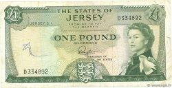 1 Pound JERSEY  1963 P.08a TB