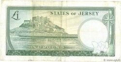 1 Pound JERSEY  1963 P.08b TB à TTB
