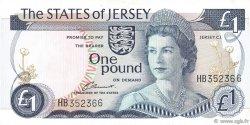 1 Pound JERSEY  1988 P.11a TTB+