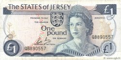 1 Pound JERSEY  1988 P.11b TB