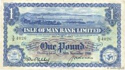1 Pound ÎLE DE MAN  1950 P.06b TB+