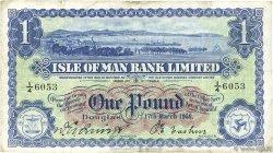 1 Pound ÎLE DE MAN  1958 P.06d TB+