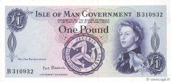 1 Pound ÎLE DE MAN  1961 P.25b TTB à SUP