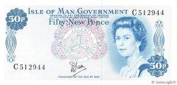 50 New Pence ÎLE DE MAN  1979 P.33a NEUF