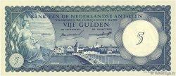 5 Gulden ANTILLES NÉERLANDAISES  1962 P.01a pr.NEUF