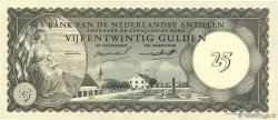 25 Gulden ANTILLES NÉERLANDAISES  1962 P.03a NEUF