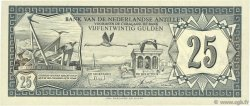 25 Gulden ANTILLES NÉERLANDAISES  1972 P.10b NEUF
