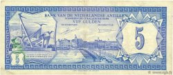 5 Gulden ANTILLES NÉERLANDAISES  1980 P.15a TTB