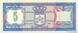 5 Gulden ANTILLES NÉERLANDAISES  1980 P.15a NEUF